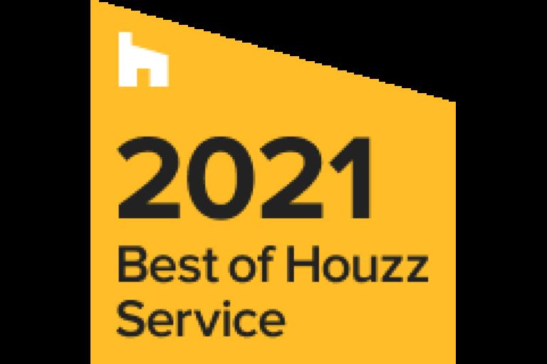 BEST OF <BR> HOUZZ SERVICE<BR> 2021