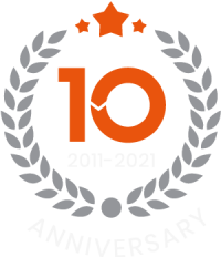 Probuild360 10 year anniversary ogo